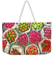 Market Flowers - Hong Kong Weekender Tote Bag