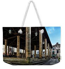 Market Hall Of Cordes-sur-ciel Weekender Tote Bag by RicardMN Photography