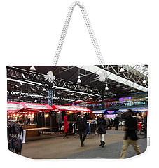 Weekender Tote Bag featuring the photograph Market Movement by Christin Brodie