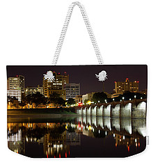 Market Street Bridge Reflections Weekender Tote Bag