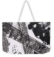Markmaking Tracks And Turns Weekender Tote Bag by Betty Pieper