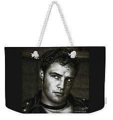 Marlon Brando - Painting Weekender Tote Bag