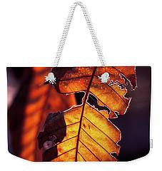 Weekender Tote Bag featuring the photograph Maron by Tatsuya Atarashi