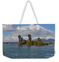 Marooned Palms Weekender Tote Bag by Renie Rutten