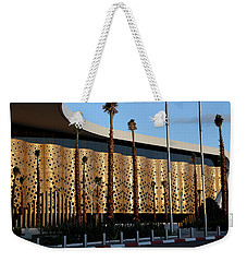 Weekender Tote Bag featuring the photograph Marrakech Airport 1 by Andrew Fare