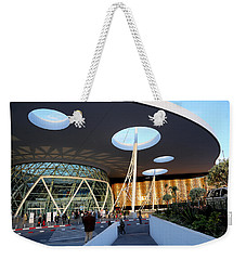 Weekender Tote Bag featuring the photograph Marrakech Airport 2 by Andrew Fare