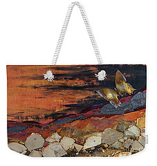 Mars Butterfly Effect Weekender Tote Bag by Stanza Widen