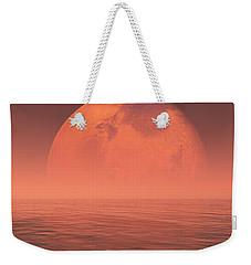 Mars Weekender Tote Bag