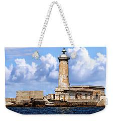 Marsala Lighthouse Weekender Tote Bag