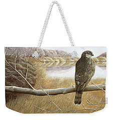 Marsh Hawk Weekender Tote Bag