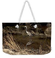 Marsh Bird Weekender Tote Bag