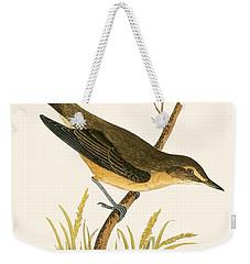 Marsh Warbler Weekender Tote Bag by English School
