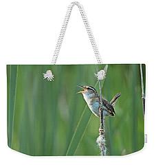 Marsh Wren Weekender Tote Bag