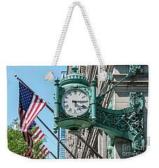 Marshall Field's Clock Weekender Tote Bag