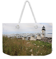 Marshall Point Daisies Weekender Tote Bag