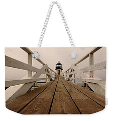 Marshall Point Fog Weekender Tote Bag