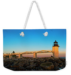 Marshall Point Lighthouse Weekender Tote Bag by Diane Diederich