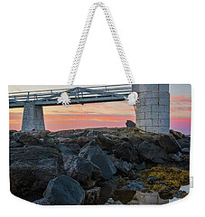 Marshall Point Reflection At Sunrise Weekender Tote Bag
