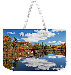 Marshfield Pond Autumn Weekender Tote Bag