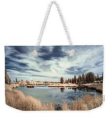 Marshlands In Washington Weekender Tote Bag by Jon Glaser
