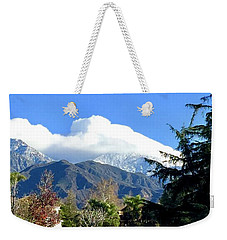 Marshmallow Topping Weekender Tote Bag by Russell Keating