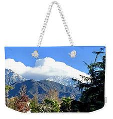 Marshmallow Topping Weekender Tote Bag