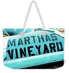 Marthas Vineyard Weekender Tote Bag
