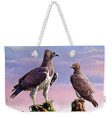 Martial Eagles Weekender Tote Bag