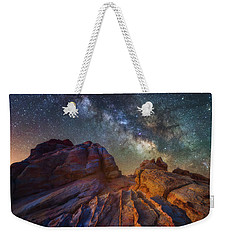 Weekender Tote Bag featuring the photograph Martian Landscape by Darren White