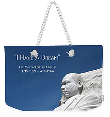 Martin Luther King Jr. Monument Weekender Tote Bag
