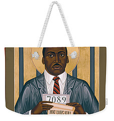 Martin Luther King Of Georgia  - Rlmlk Weekender Tote Bag