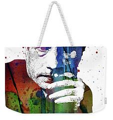 Martin Scorsese Weekender Tote Bag by Mihaela Pater