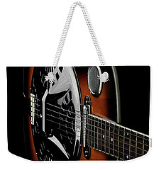 Weekender Tote Bag featuring the photograph Martinez Guitar 01 by Kevin Chippindall