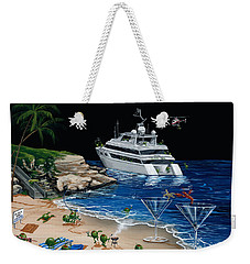 Martini Cove La Jolla Weekender Tote Bag