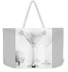 Martini Glassware2 Weekender Tote Bag