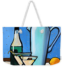 Martini Night Weekender Tote Bag by Toni Grote