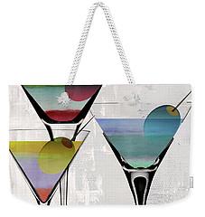 Martini Prism Weekender Tote Bag by Mindy Sommers