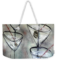 Martini Time Weekender Tote Bag
