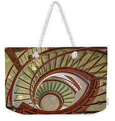 Marttin Hall Spiral Stairway Weekender Tote Bag by Gregory Daley  PPSA
