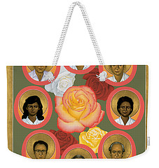 Martyrs Of The Jesuit University - Rlmju Weekender Tote Bag