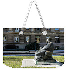 Marulic Square Zagreb  Weekender Tote Bag by Steven Richman