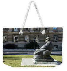 Marulic Square Zagreb  Weekender Tote Bag