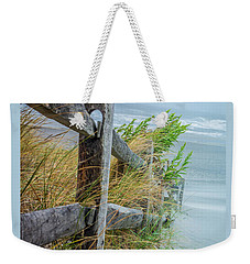 Marvel Of An Ordinary Fence Weekender Tote Bag by Patrice Zinck