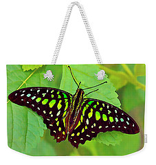 Marvelous Malachite Butterfly 2 Weekender Tote Bag