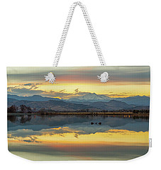 Weekender Tote Bag featuring the photograph Marvelous Mccall Lake Reflections by James BO Insogna