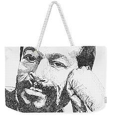 Marvin Gaye  Weekender Tote Bag
