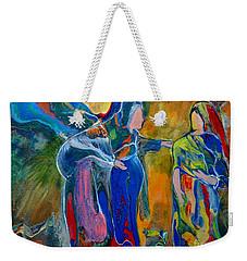 Mary And Elizabeth Weekender Tote Bag