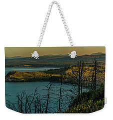Mary Bay At Dawn Weekender Tote Bag by Yeates Photography