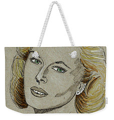 Mary Costa Weekender Tote Bag