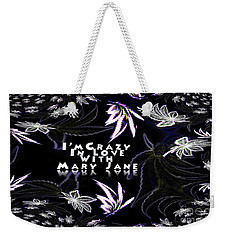 Mary Jane The Wallpaper Weekender Tote Bag